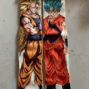 Dragon Ball Z  Socks NWT size 6-13